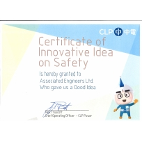 CLP - Certificate of Innovative Idea on Safety (Feb 2018)